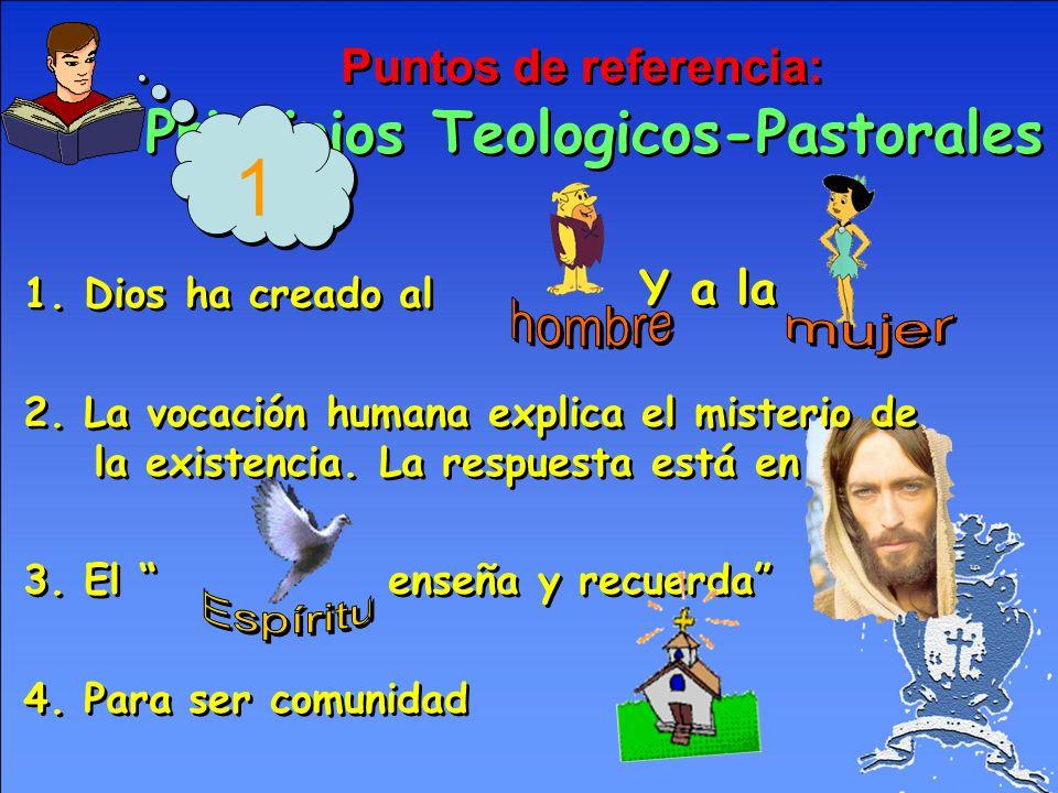Puntos de referencia: Principios Teologicos-Pastorales