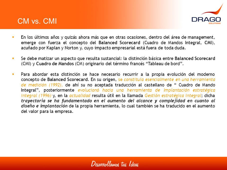 CM vs. CMI