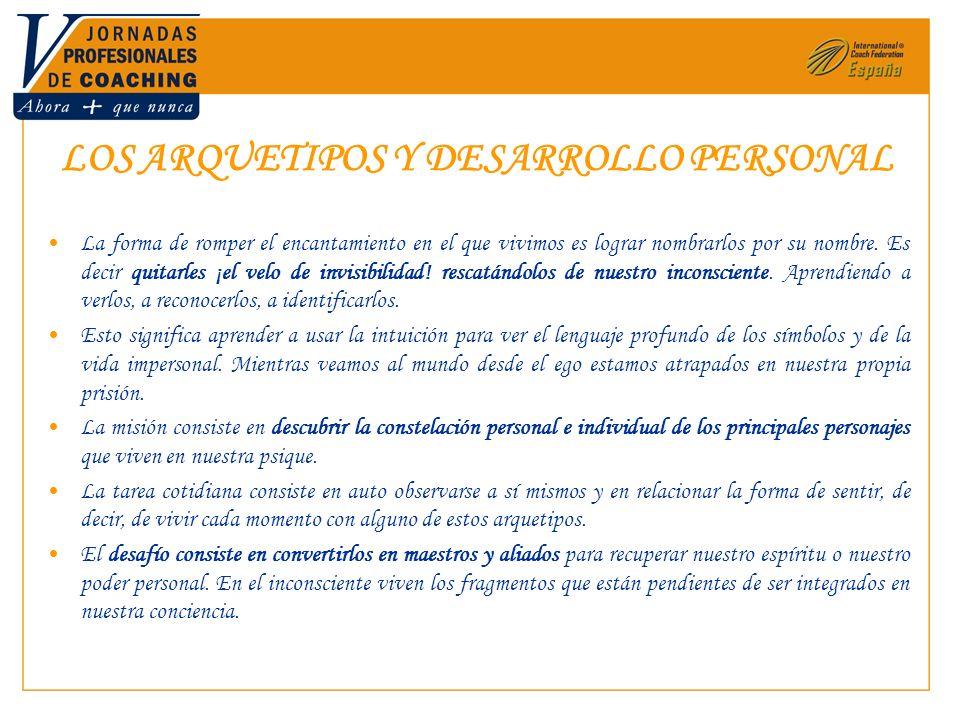 LOS ARQUETIPOS Y DESARROLLO PERSONAL