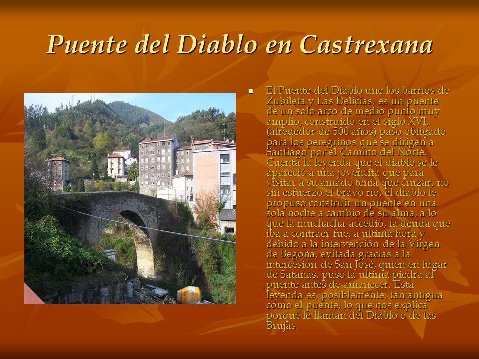 Puente del Diablo en Castrexana