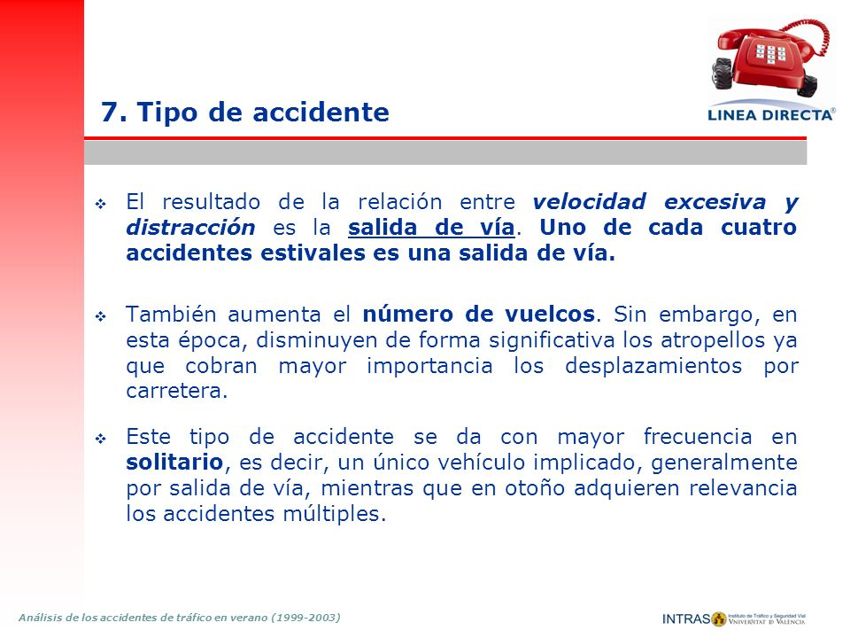 7. Tipo de accidente