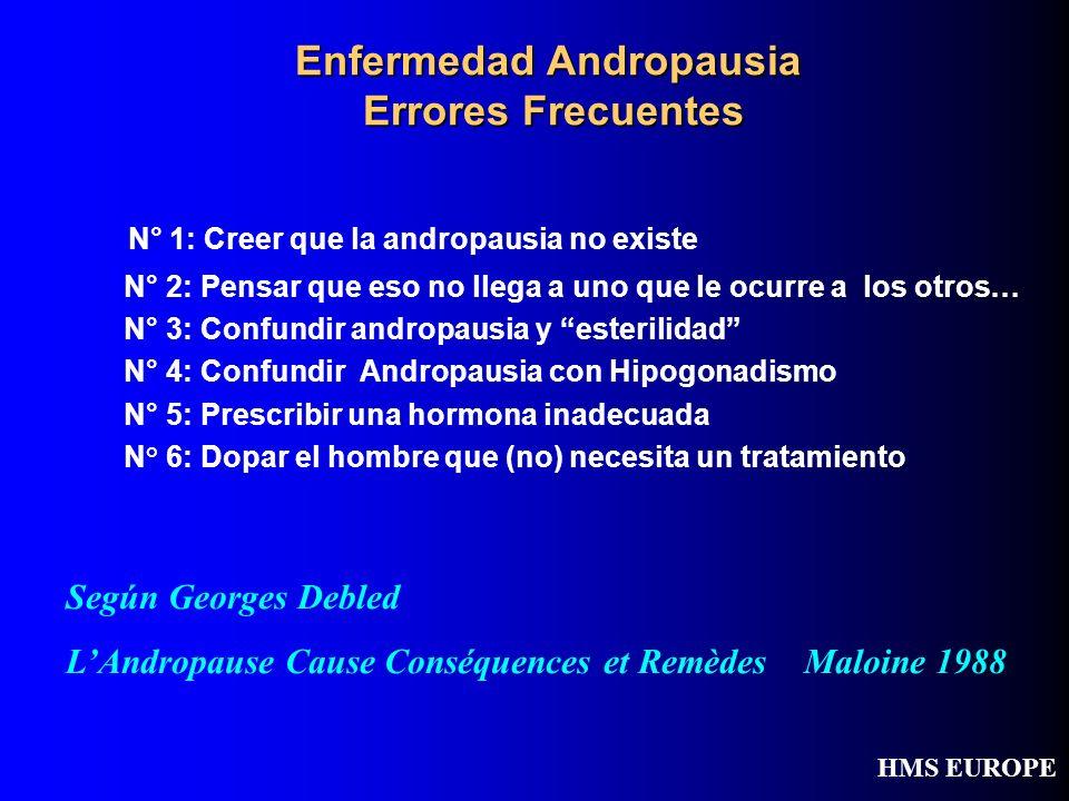 Enfermedad Andropausia Errores Frecuentes