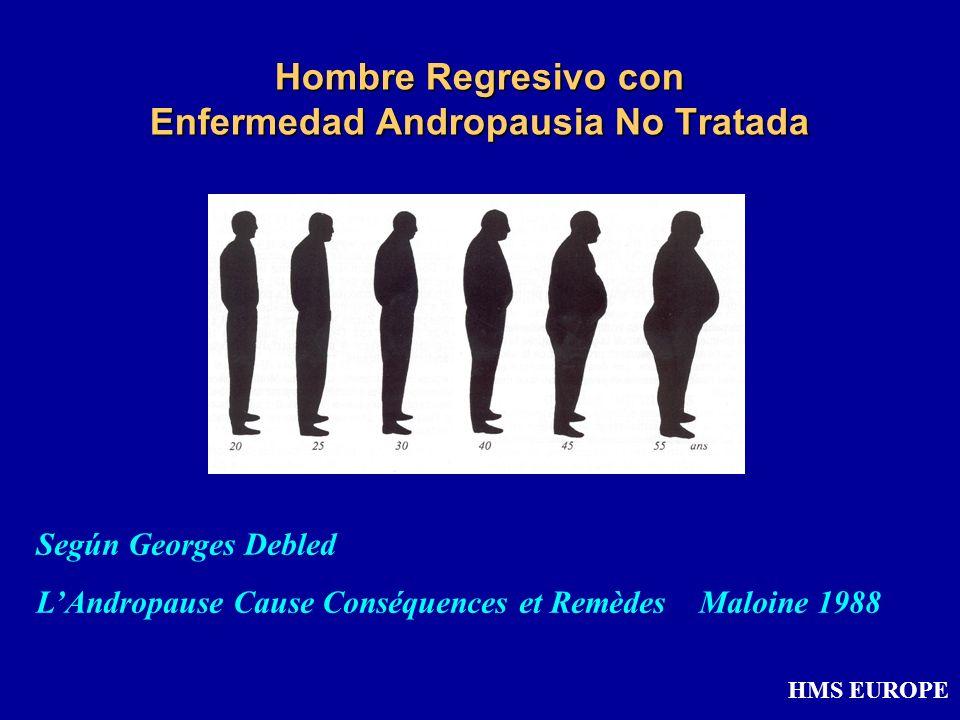 Hombre Regresivo con Enfermedad Andropausia No Tratada