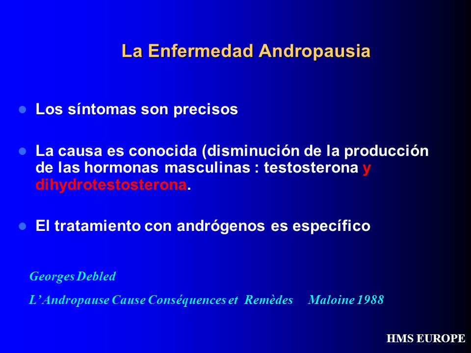 La Enfermedad Andropausia