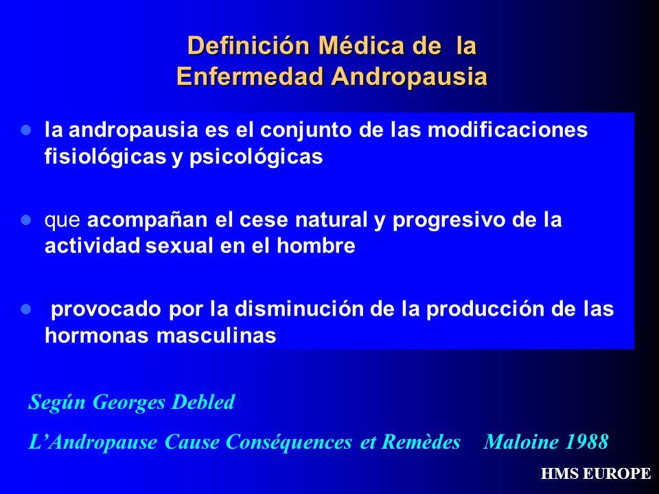 Definición Médica de la Enfermedad Andropausia