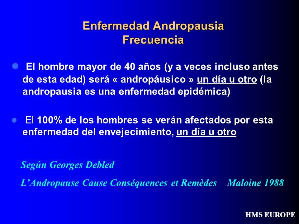 Enfermedad Andropausia Frecuencia