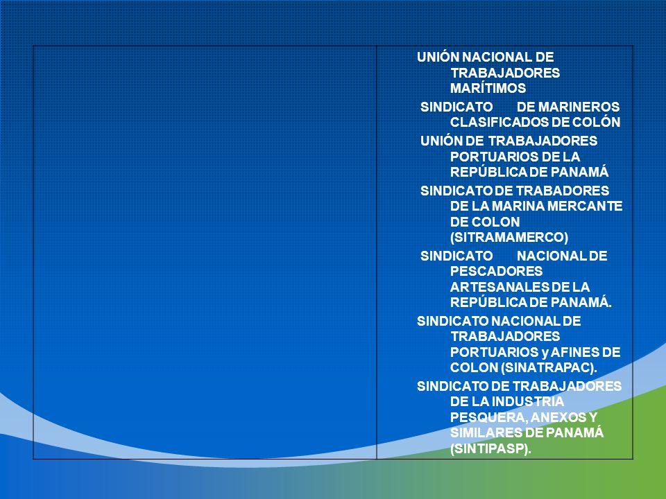 UNIÓN NACIONAL DE TRABAJADORES MARÍTIMOS