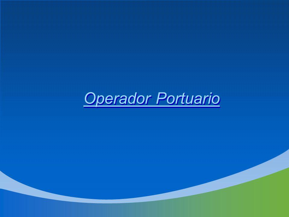Operador Portuario