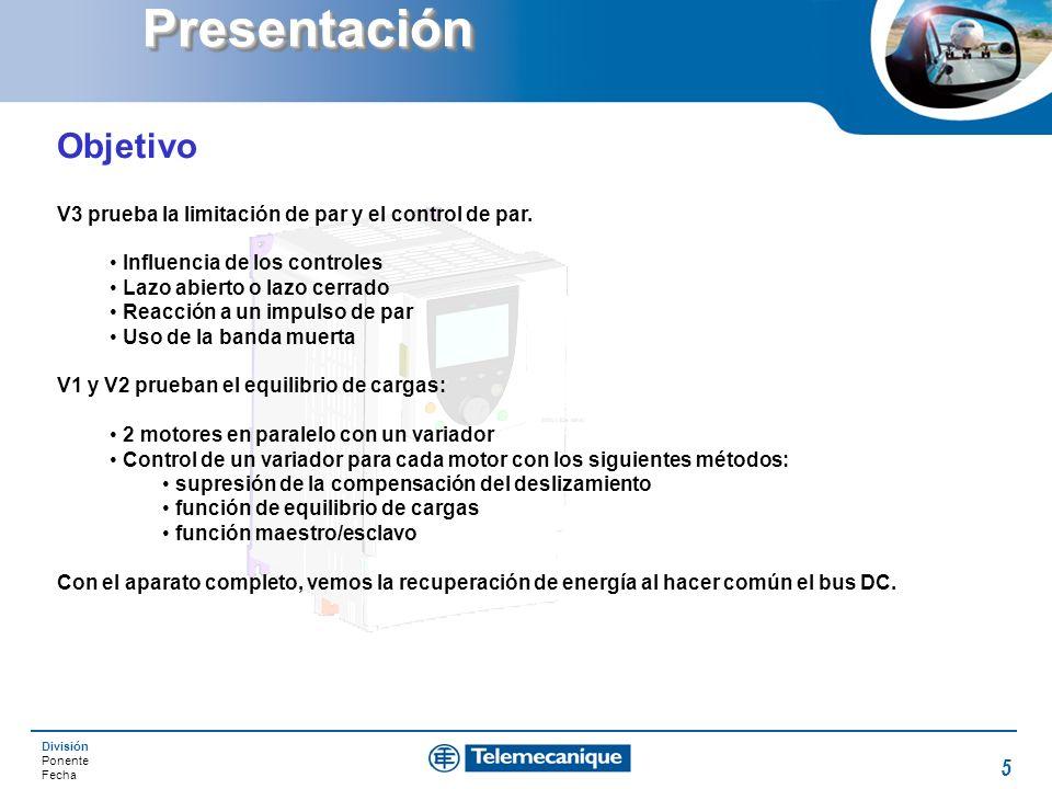 Presentación Objetivo
