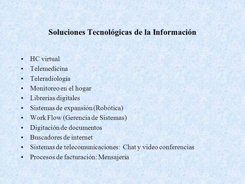Soluciones Tecnológicas de la Información