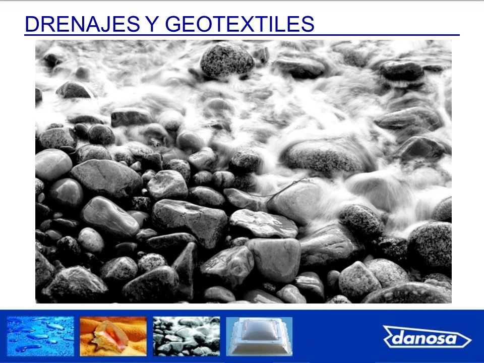 DRENAJES Y GEOTEXTILES