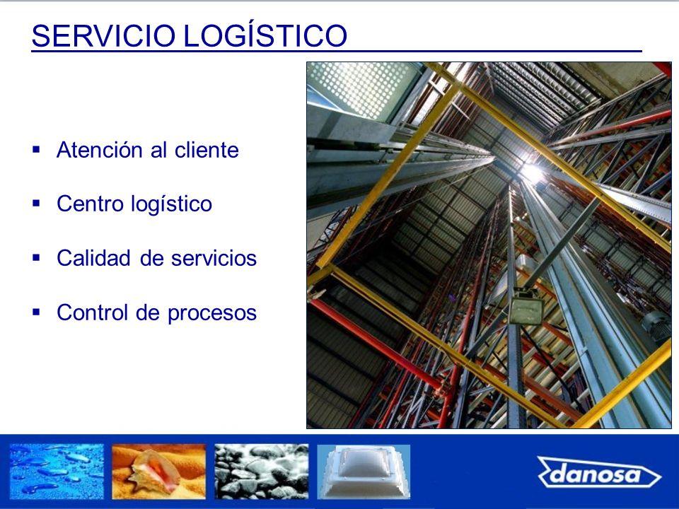 SERVICIO LOGÍSTICO Atención al cliente Centro logístico