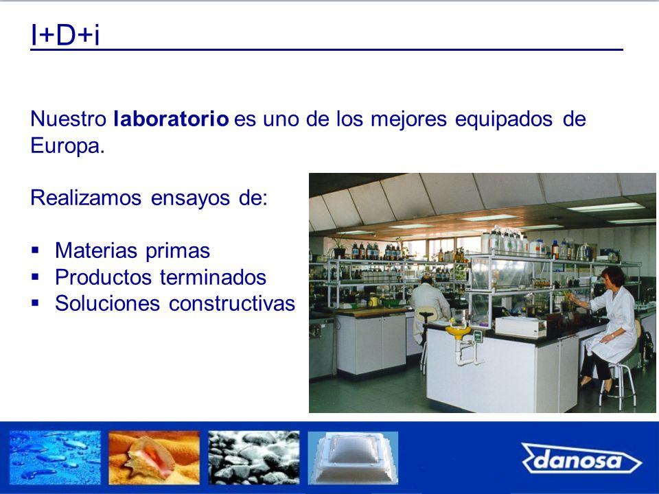 I+D+i Nuestro laboratorio es uno de los mejores equipados de Europa.