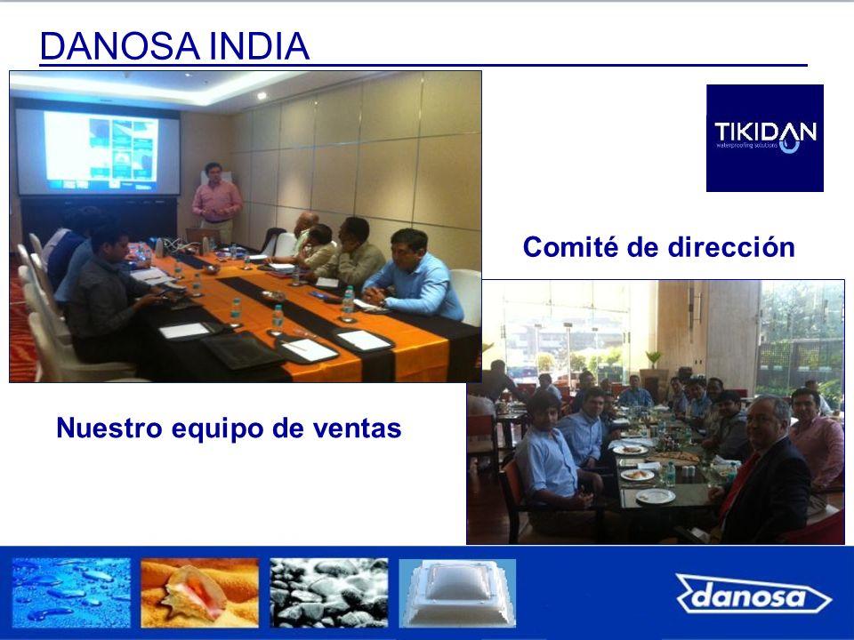 DANOSA INDIA Comité de dirección Nuestro equipo de ventas