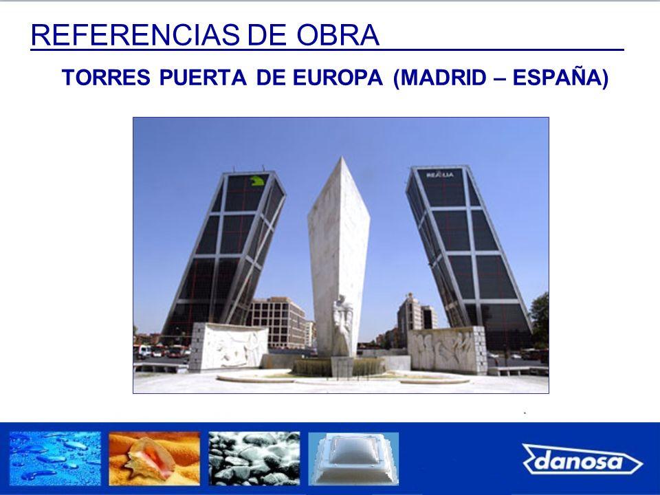 TORRES PUERTA DE EUROPA (MADRID – ESPAÑA)