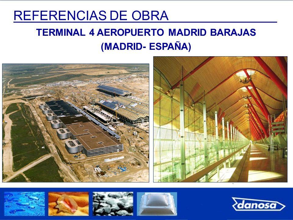 TERMINAL 4 AEROPUERTO MADRID BARAJAS