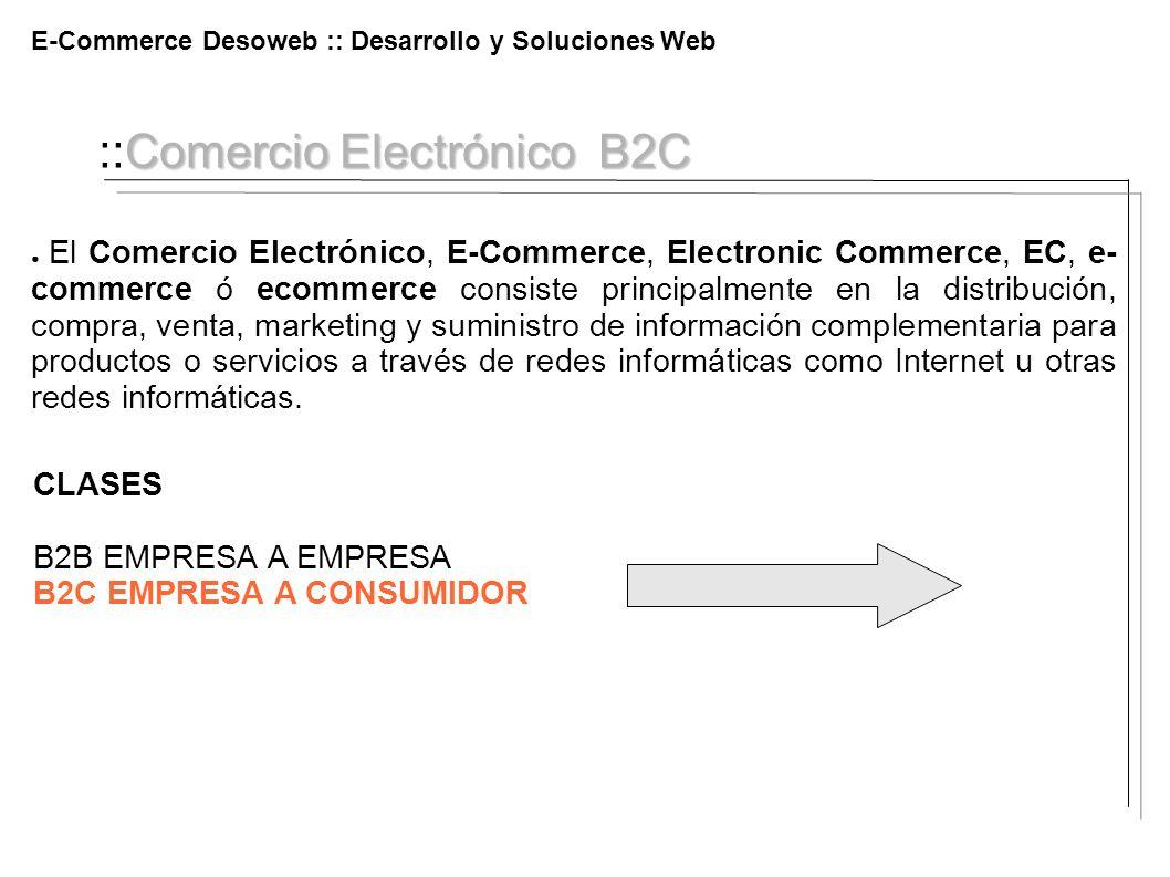 ::Comercio Electrónico B2C
