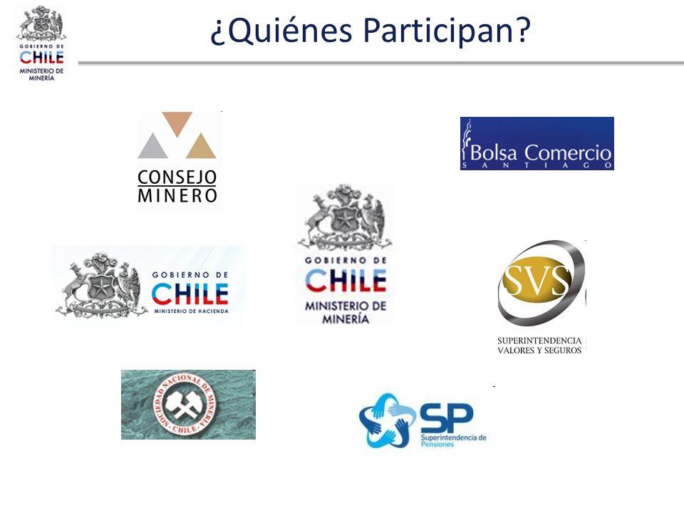 ¿Quiénes Participan