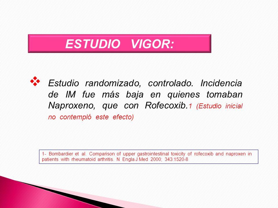 ESTUDIO VIGOR: