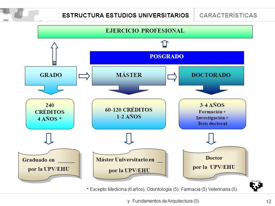 EJERCICIO PROFESIONAL Máster Universitario en __