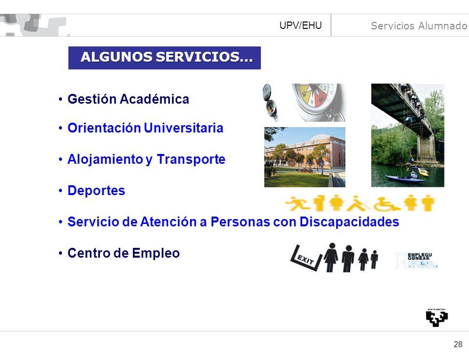 Orientación Universitaria Alojamiento y Transporte Deportes