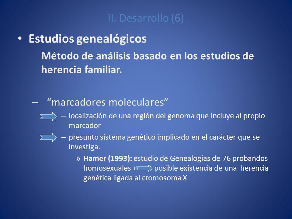 Estudios genealógicos