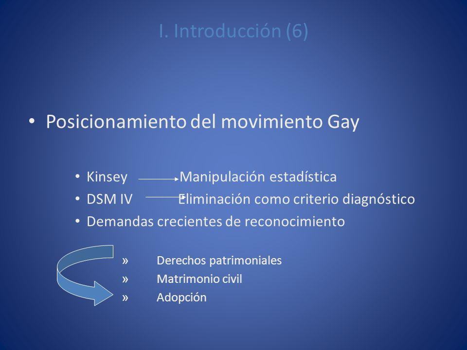 Posicionamiento del movimiento Gay