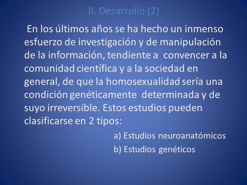 II. Desarrollo (2)