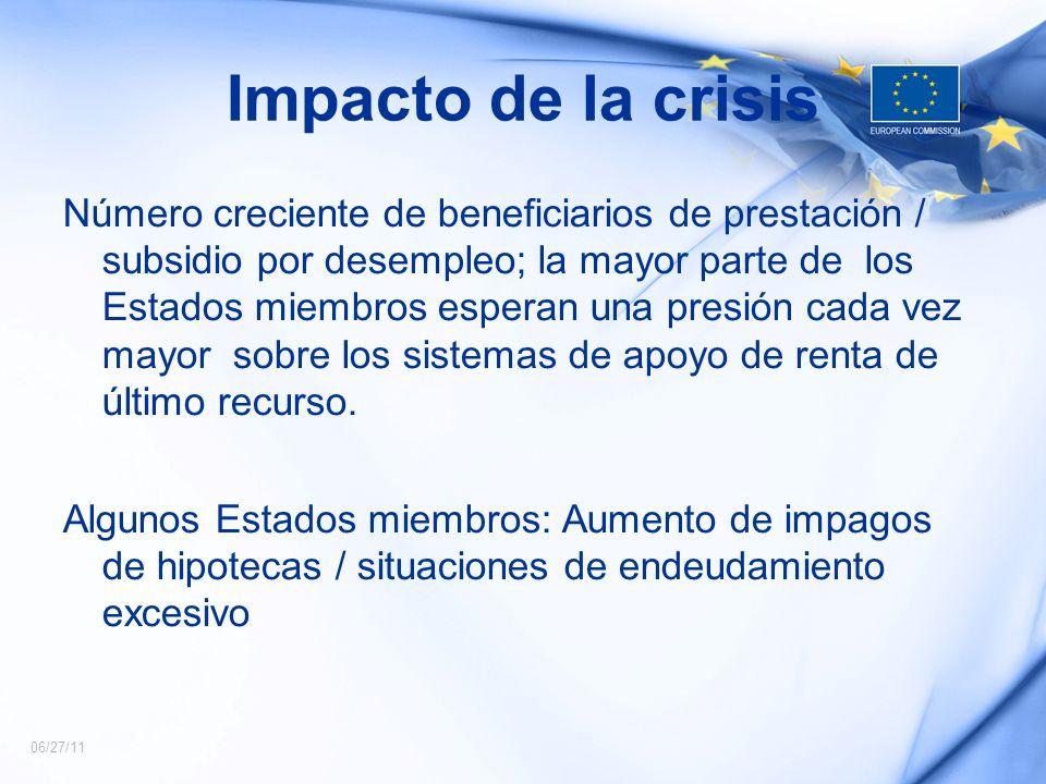 Impacto de la crisis