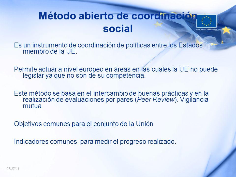 Método abierto de coordinación social