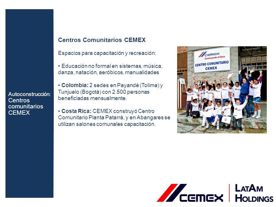 Centros Comunitarios CEMEX