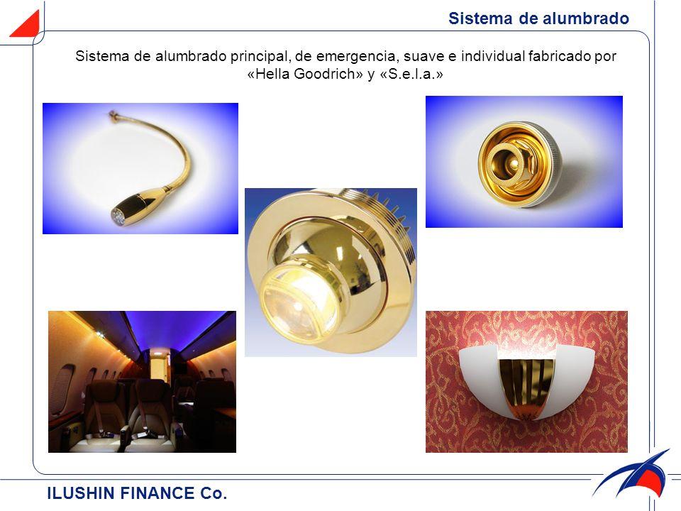 Sistema de alumbrado ILUSHIN FINANCE Cо.