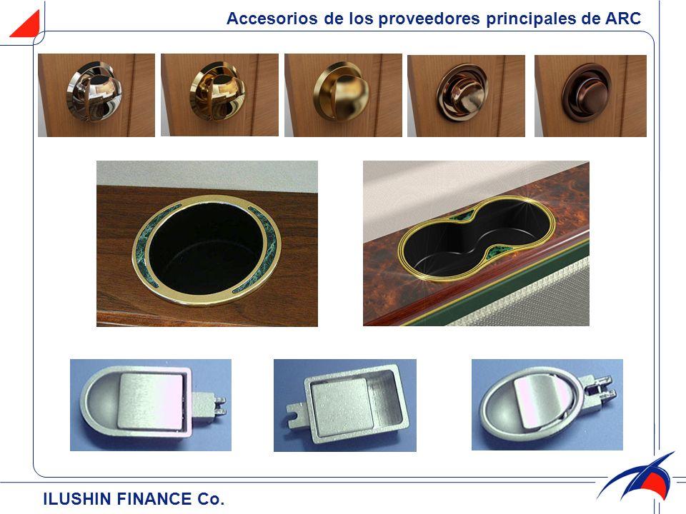 Accesorios de los proveedores principales de ARC