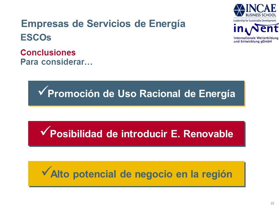 Empresas de Servicios de Energía