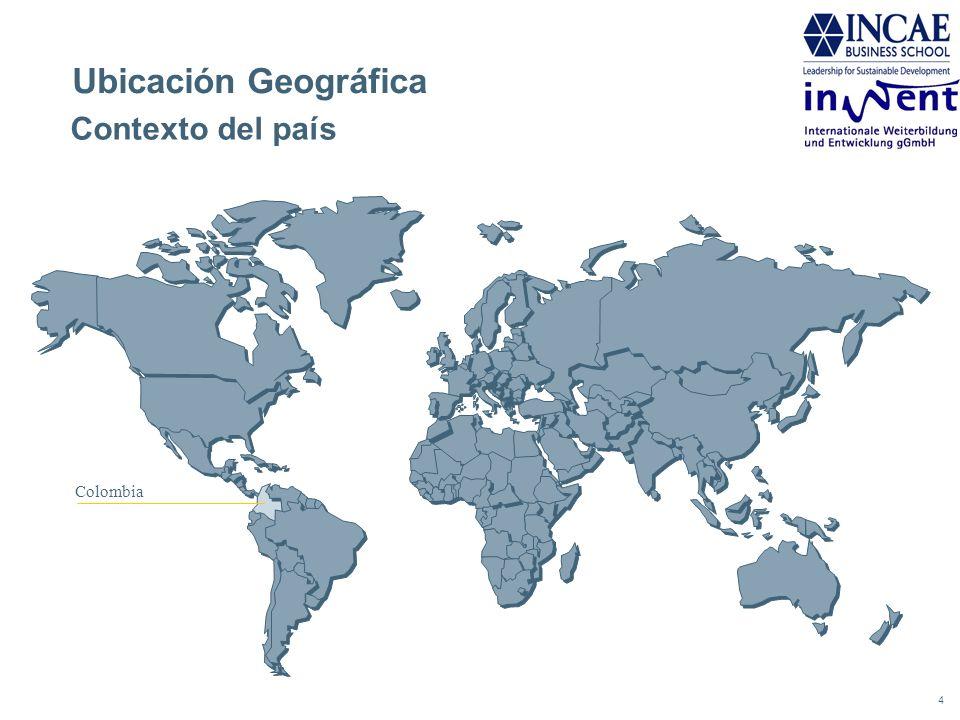 Ubicación Geográfica Contexto del país Colombia