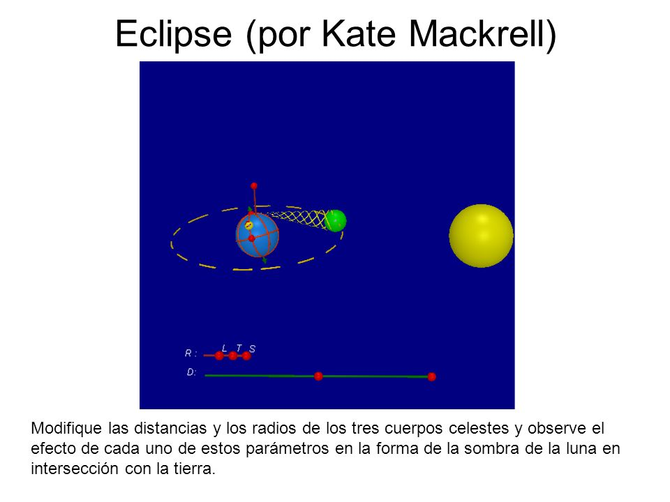 Eclipse (por Kate Mackrell)