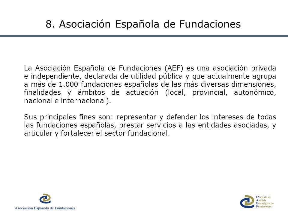 8. Asociación Española de Fundaciones