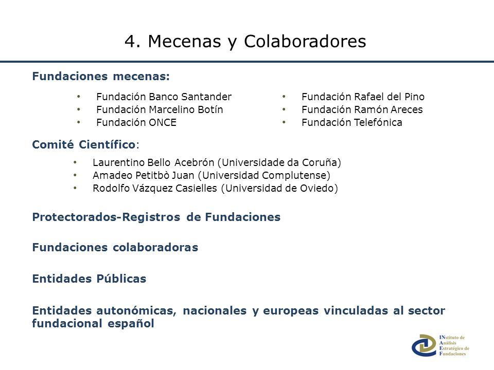 4. Mecenas y Colaboradores