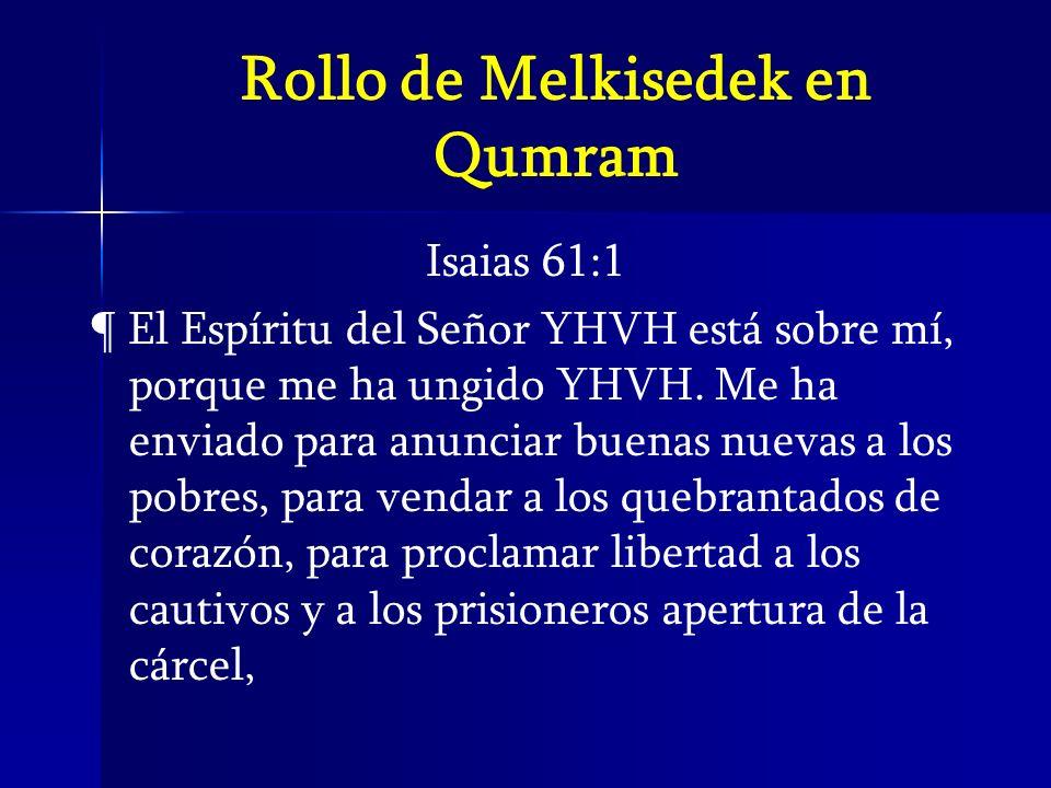 Rollo de Melkisedek en Qumram