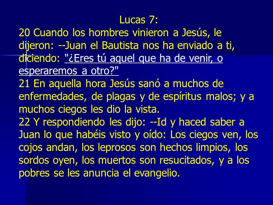 Lucas 7: