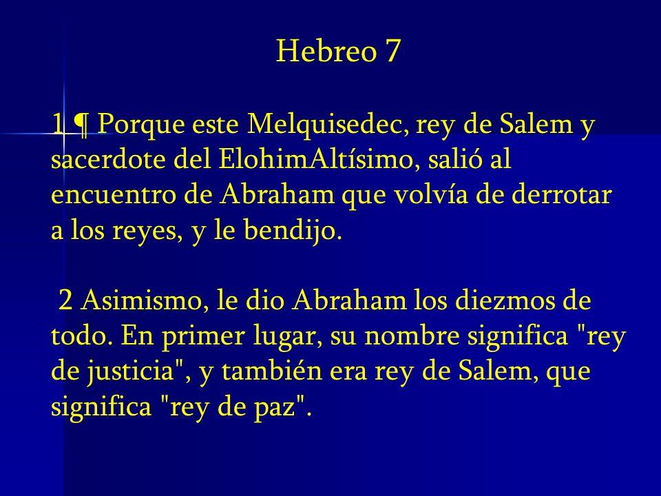 Hebreo 7