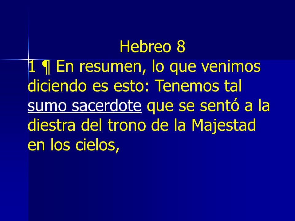 Hebreo 8