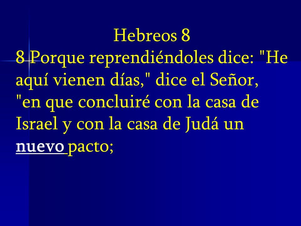 Hebreos 8