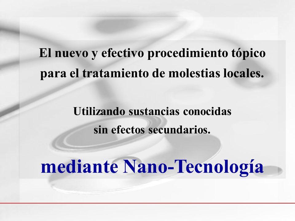 mediante Nano-Tecnología