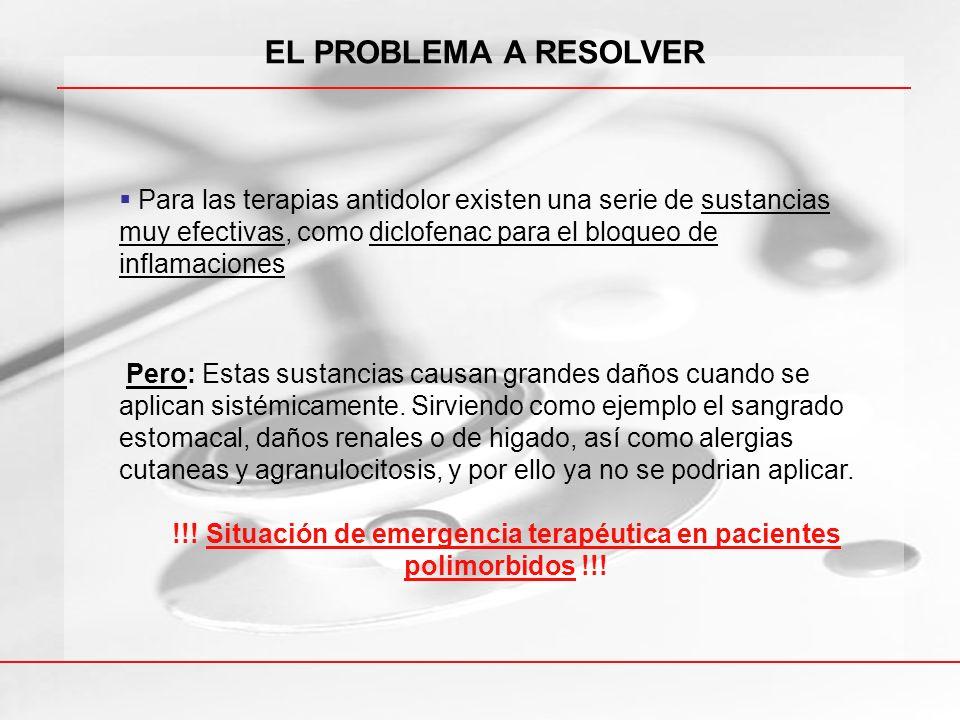 !!! Situación de emergencia terapéutica en pacientes polimorbidos !!!