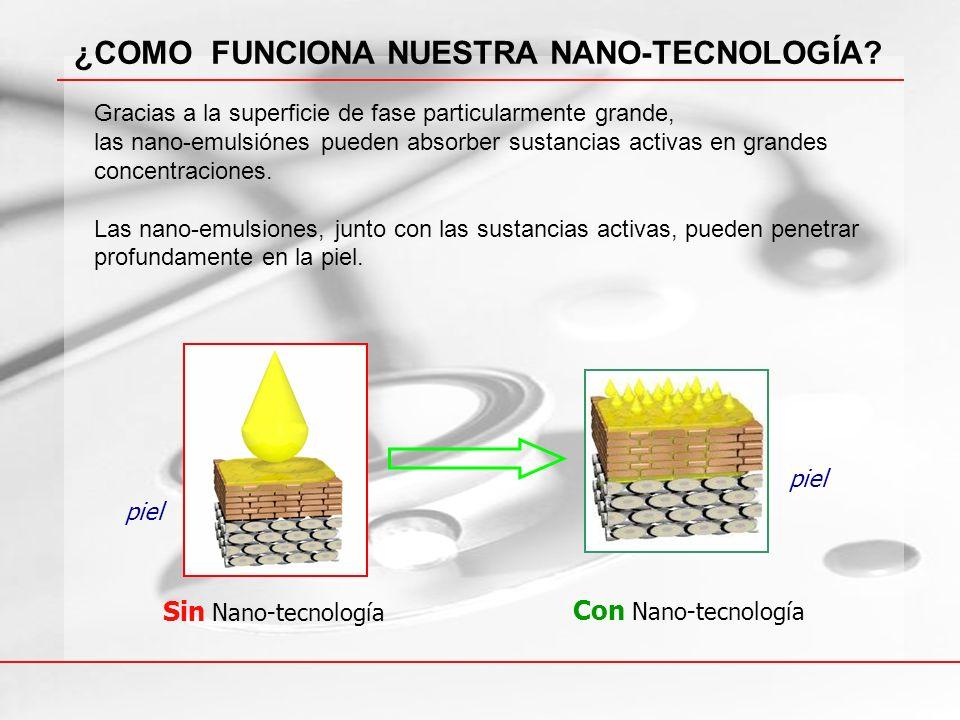 ¿COMO FUNCIONA NUESTRA NANO-TECNOLOGÍA
