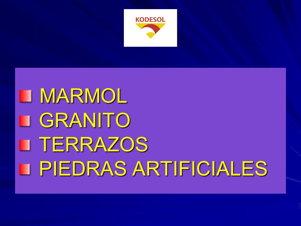 MARMOL GRANITO TERRAZOS PIEDRAS ARTIFICIALES