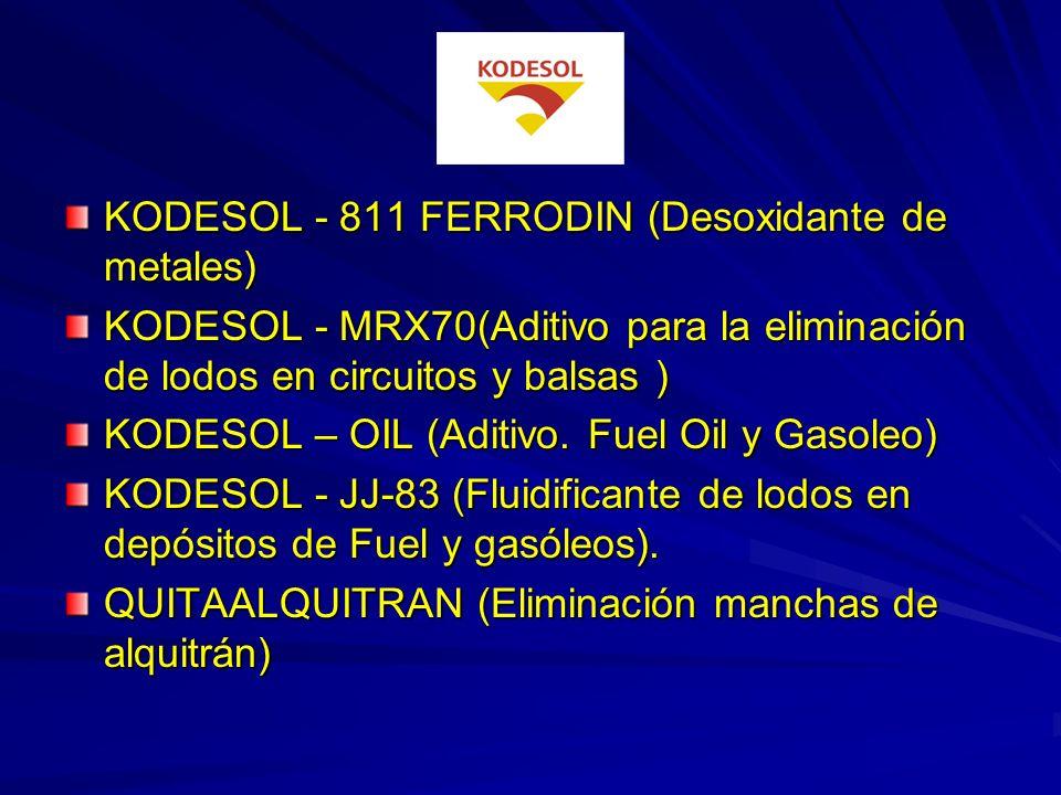 KODESOL - 811 FERRODIN (Desoxidante de metales)