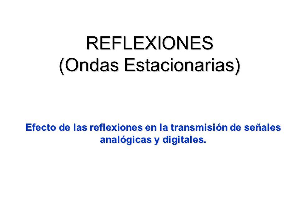 REFLEXIONES (Ondas Estacionarias)