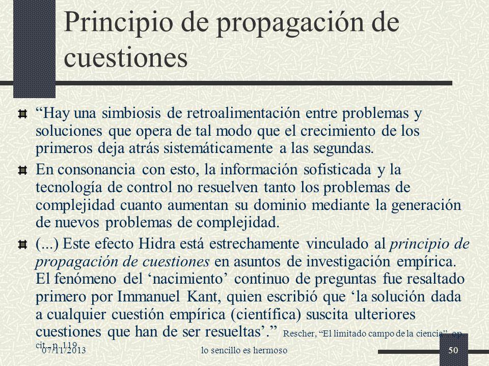 Principio de propagación de cuestiones